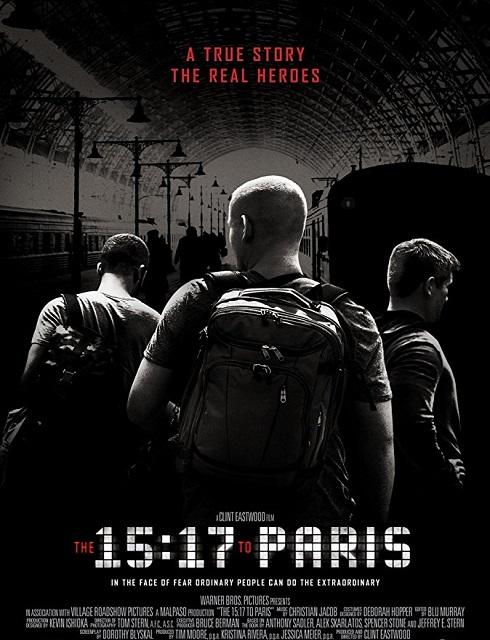 فيلم The 15 17 to Paris 2018 مترجم اون لاين