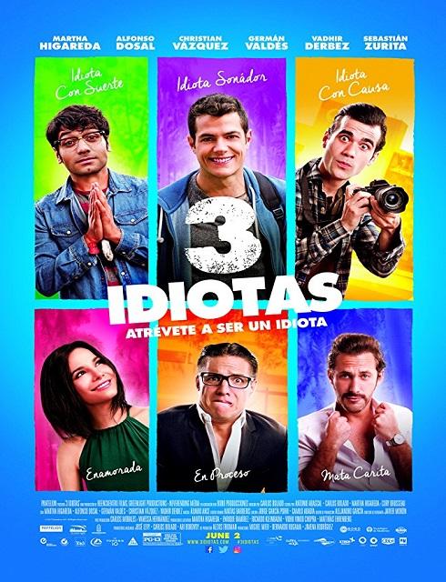 مشاهدة فيلم 3 Idiotas 2017 مترجم