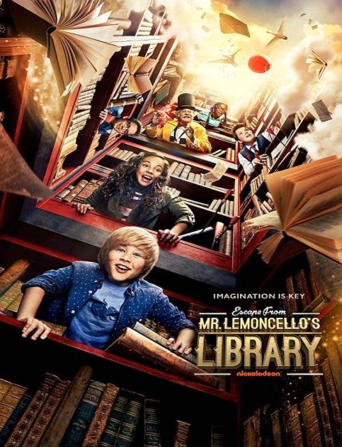 فيلم Escape from Mr Lemoncellos Library 2017 مترجم اون لاين