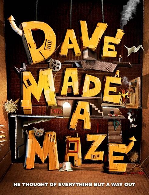 فيلم Dave Made a Maze 2017 مترجم اون لاين
