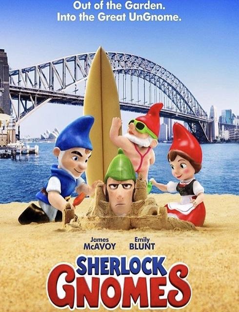 فيلم Sherlock Gnomes 2018 مترجم اون لاين