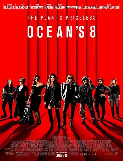 فيلم Oceans 8 2018 مترجم اون لاين
