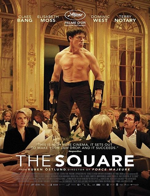 فيلم The Square 2017 مترجم اون لاين
