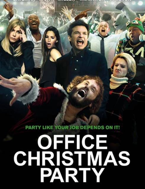 فيلم Office Christmas Party 2016 HD مترجم