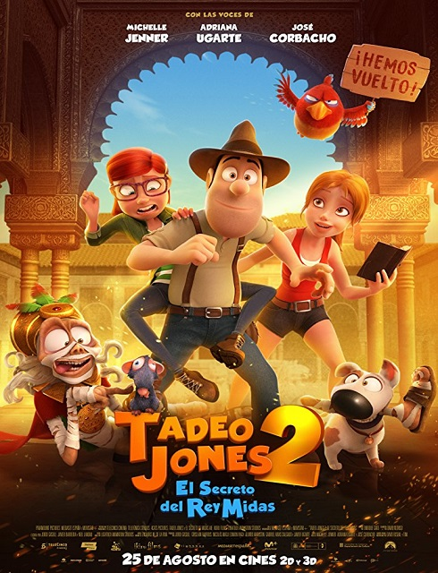 فيلم Tad Jones and the Secret of King Midas 2017 مترجم اون لاين