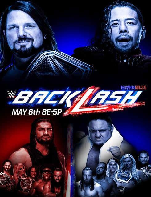 مشاهدة باكلاش WWE Backlash 2018 مترجم online