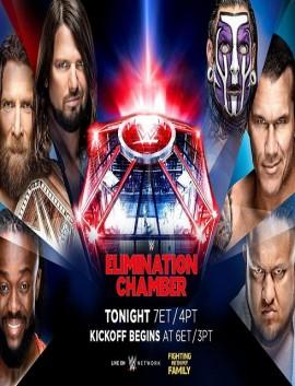 عرض المهرجان السنوي WWE Elimination Chamber 2019 مترجم
