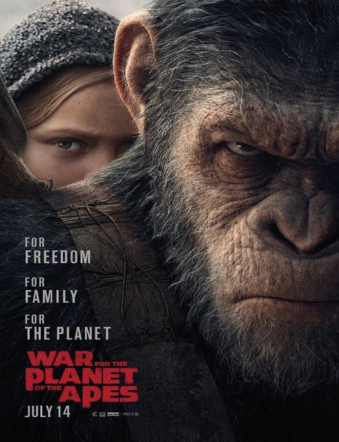 فلم War for the Planet of the Apes 2017 مترجم