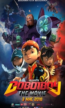 فيلم BoBoiBoy The Movie 2016 مترجم اون لاين
