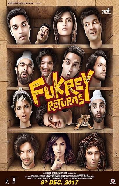 فيلم Fukrey Returns 2017 مترجم اون لاين