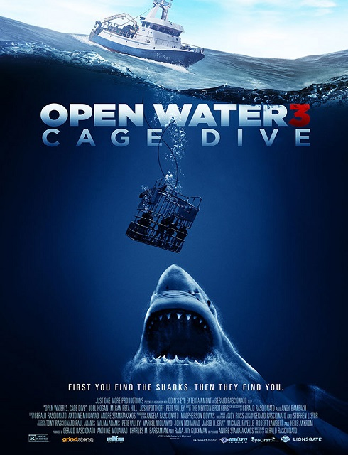 فيلم Open Water 3 Cage Dive 2017 مترجم