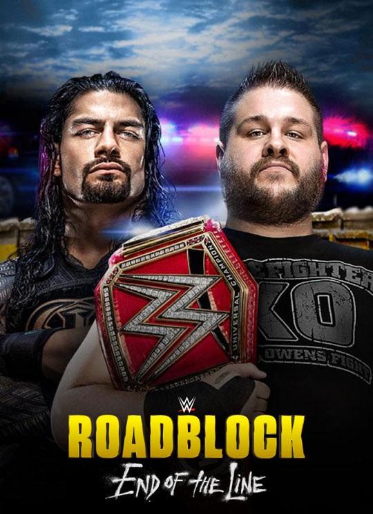 WWE Roadblock End Of The Line 2016 مترجم اون لاين