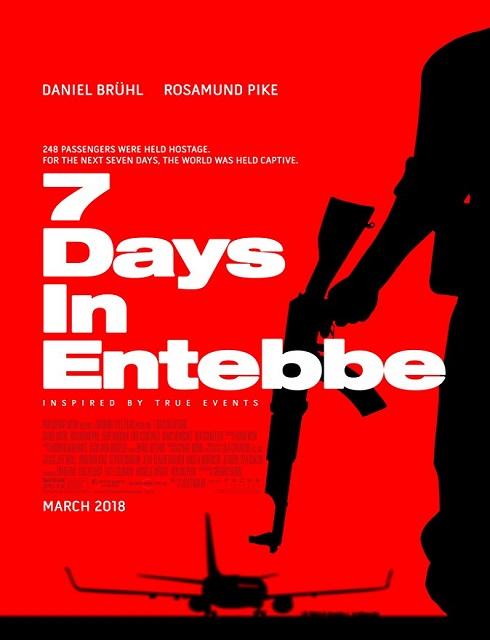 فيلم 7Days in Entebbe 2018 مترجم اون لاين