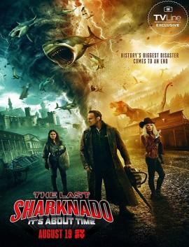 فيلم The Last Sharknado Its About Time 2018 مترجم اون لاين