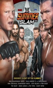 شاهد عرض WWE SummerSlam 2016 مترجم HD اون لاين