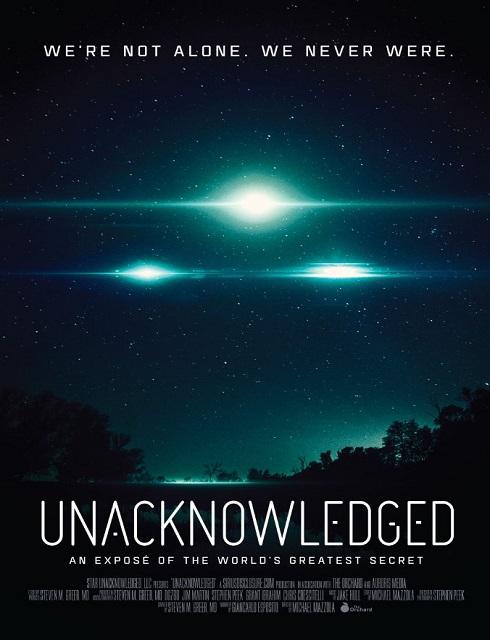 فيلم Unacknowledged 2017 مترجم اون لاين