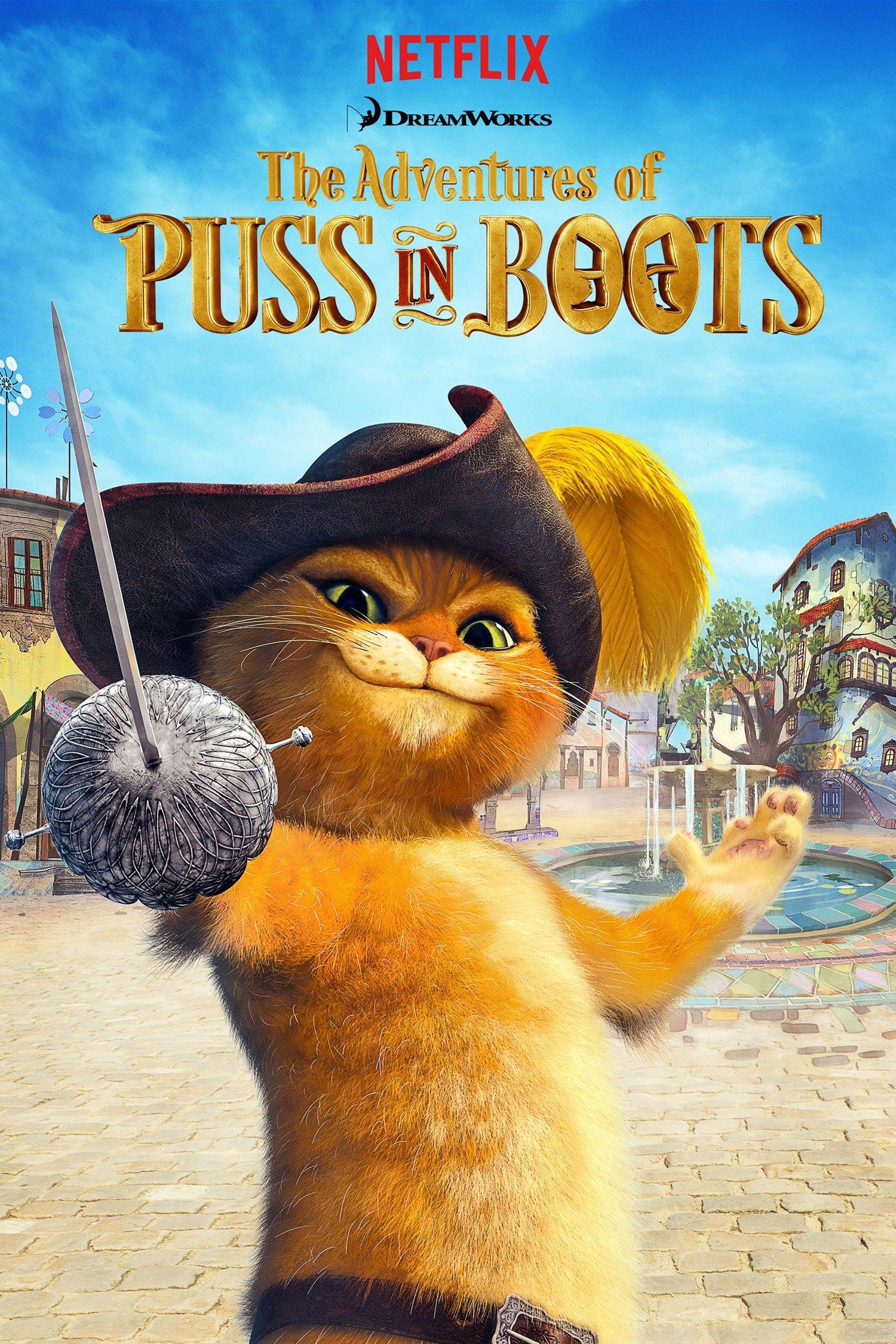فيلم Puss in Book Trapped in an Epic Tale 2017 مترجم