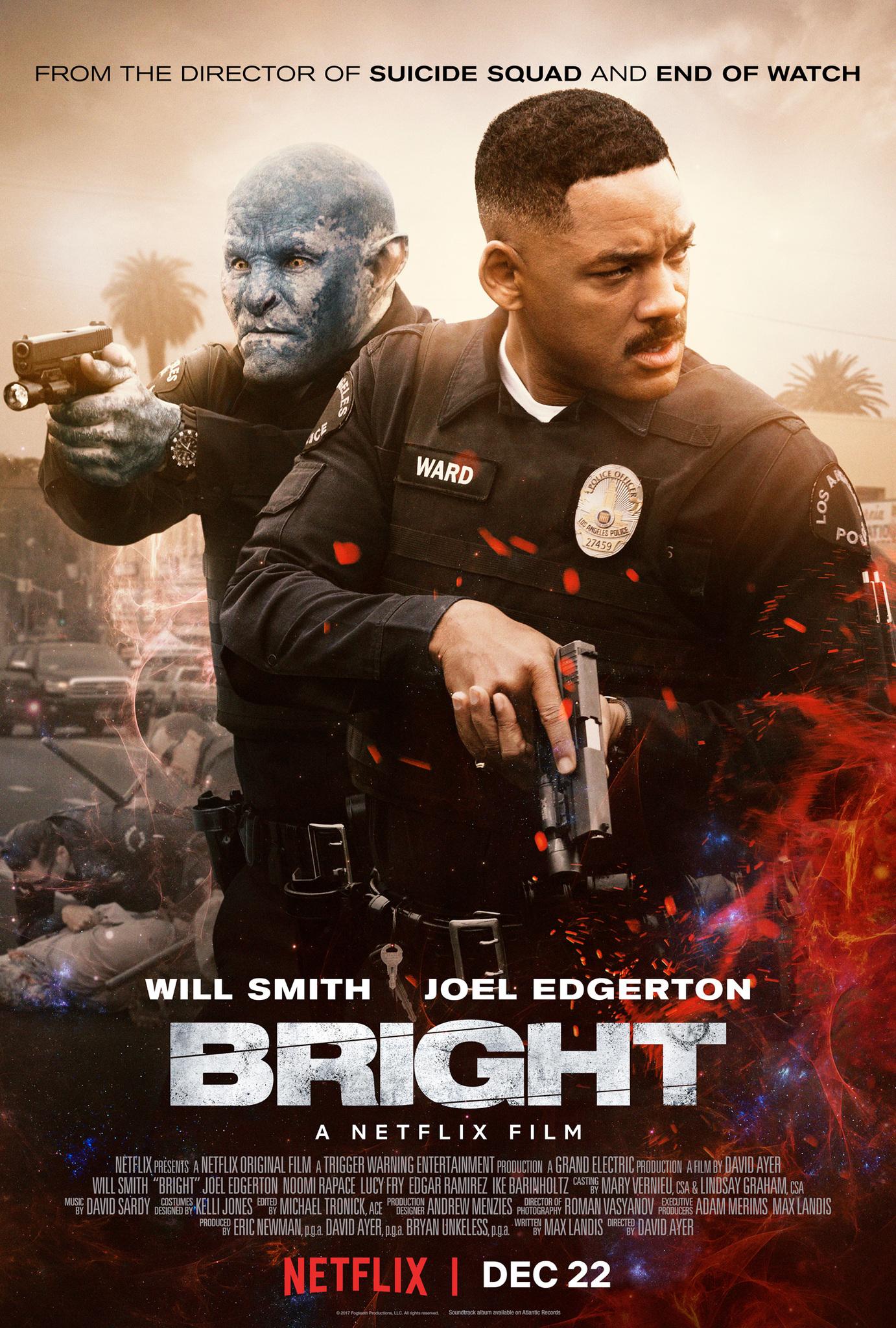 فيلم Bright 2017 مترجم اون لاين