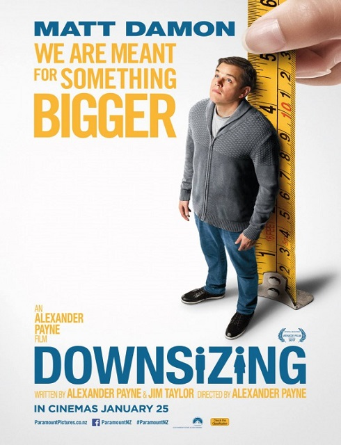 فيلم Downsizing 2017 مترجم اون لاين