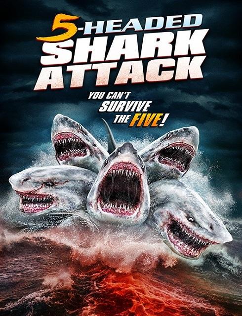 فيلم 5 Headed Shark Attack 2017 مترجم اون لاين