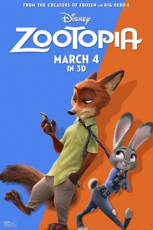 فيلم Zootopia 2016 مترجم اون لاين