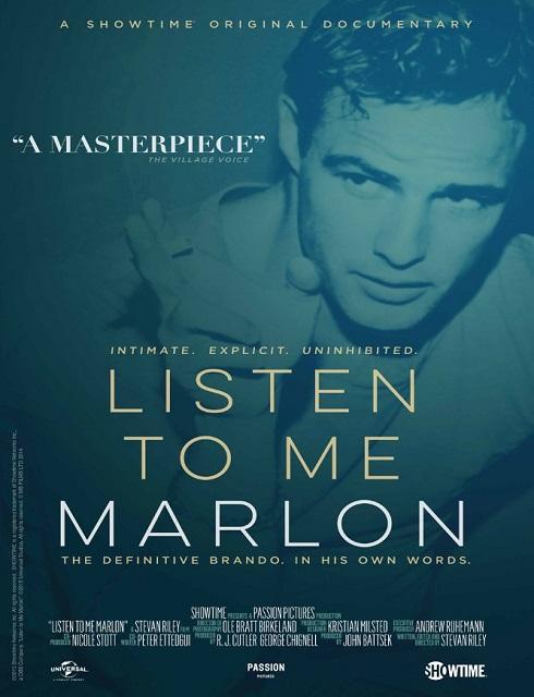 فيلم Listen to Me Marlon 2015 مترجم اون لاين