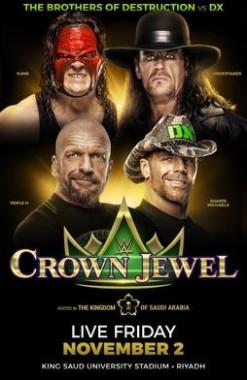 عرض WWE Crown Jewel 2018 مترجم اون لاين