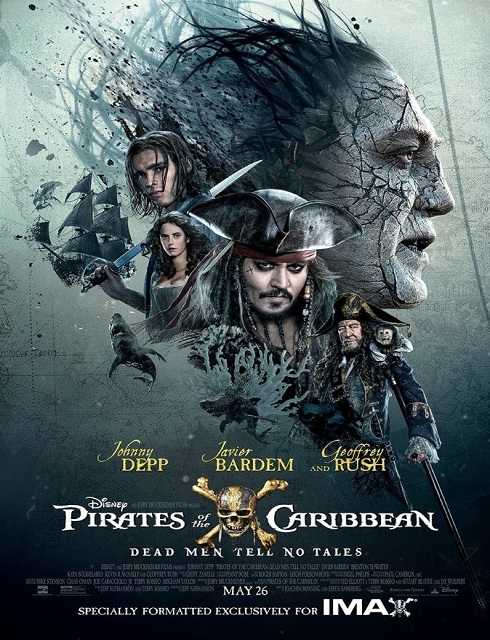 فيلم Pirates of the Caribbean Dead Men Tell No Tales 2017 مترجم اون لاين