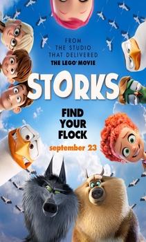 مشاهدة فيلم Storks 2016 HD مترجم اون لاين