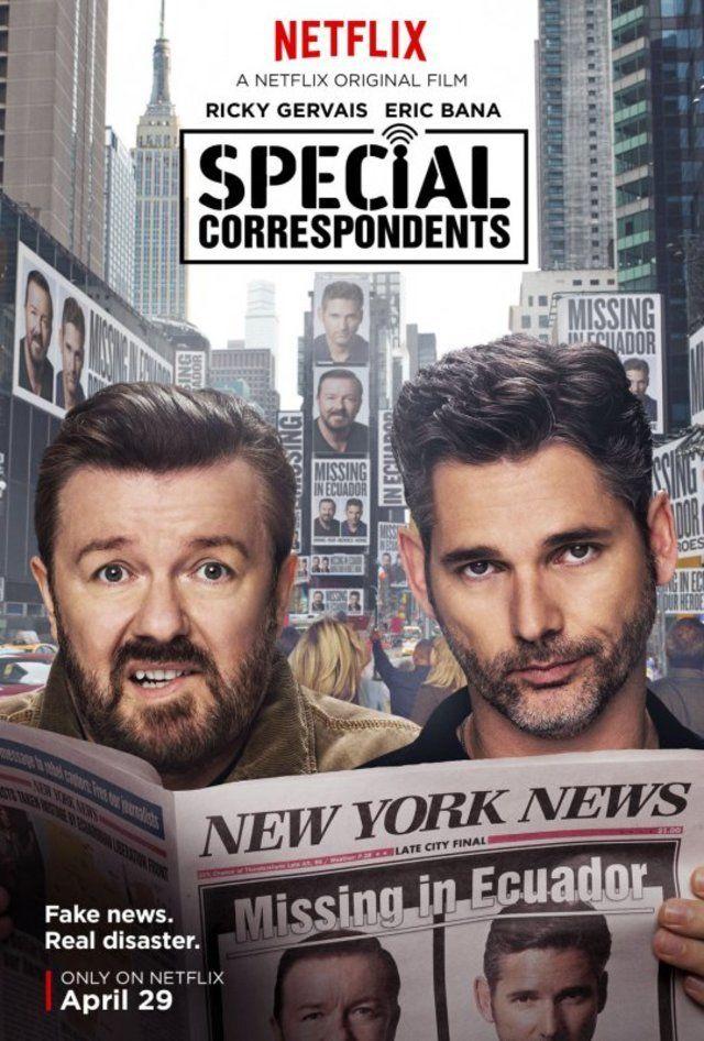 فيلم Special Correspondents 2016 مترجم اون لاين