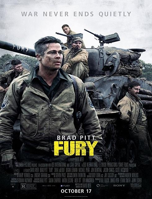 فيلم Fury 2014 مترجم اون لاين