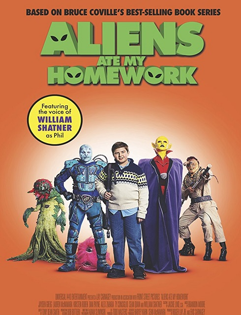 فيلم Aliens Ate My Homework 2018 مترجم اون لاين