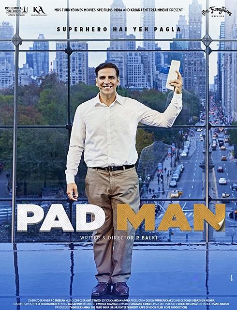 فيلم Padman 2018 مترجم اون لاين