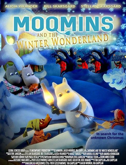 فيلم Moomins and the Winter Wonderland 2017 مترجم اون لاين
