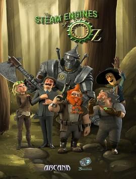 فيلم The Steam Engines of Oz 2018 مترجم اون لاين