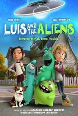 فيلم Luis and the Aliens 2018 مترجم اون لاين