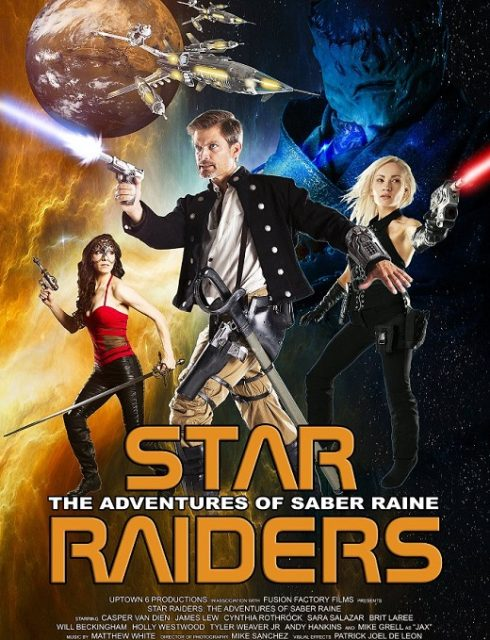 فيلم Star Raiders The Adventures of Saber Raine 2016 مترجم